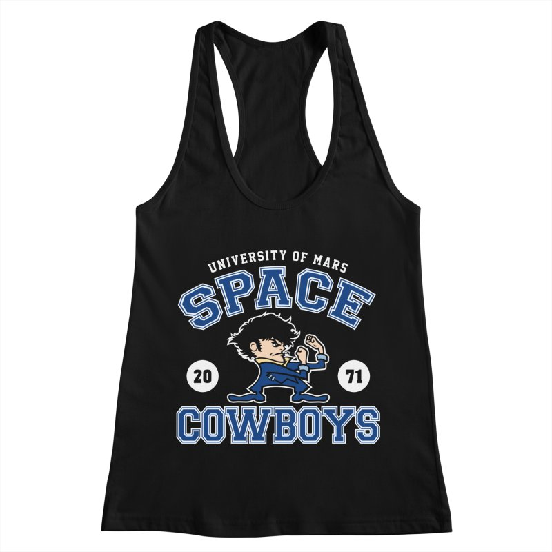 Space Cowboys Women's Racerback Tank by machmigo1's Artist Shop