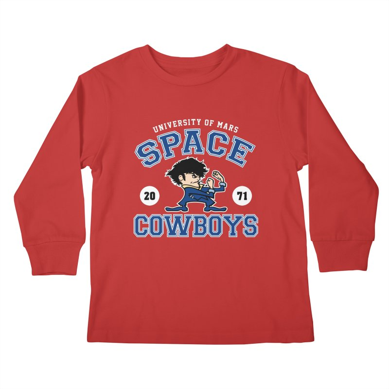 Space Cowboys Kids Longsleeve T-Shirt by machmigo1's Artist Shop