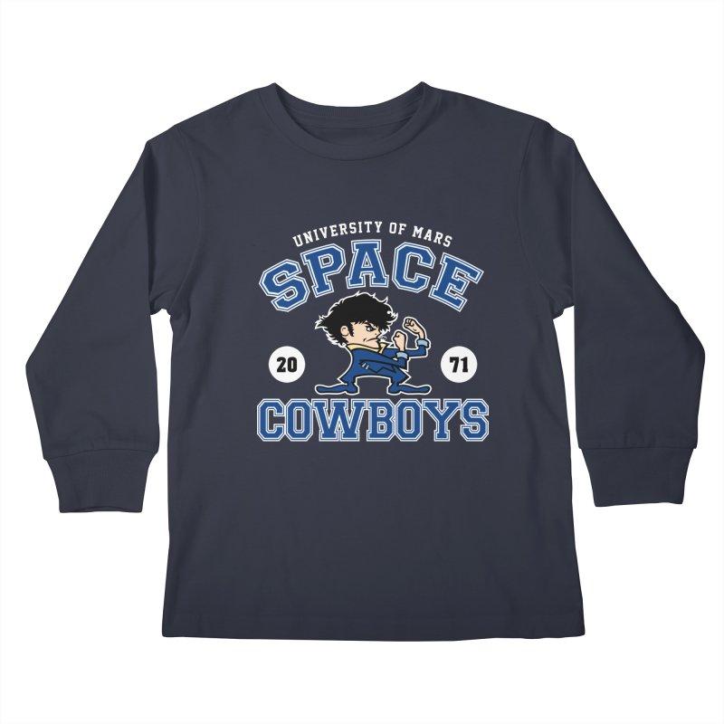 Space Cowboys Kids Longsleeve T-Shirt by machmigo1's Artist Shop
