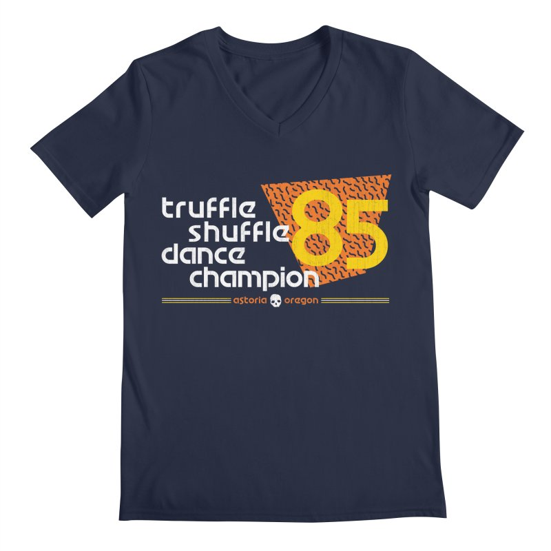 Dance Champ Men's Regular V-Neck by machmigo1's Artist Shop