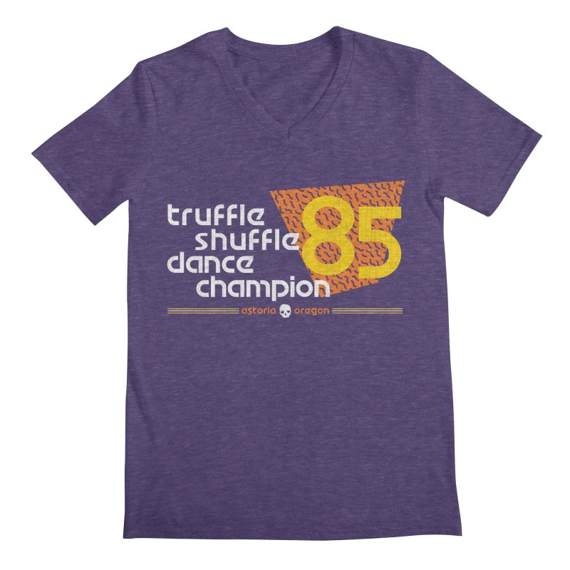 Dance Champ Men's V-Neck by machmigo1's Artist Shop