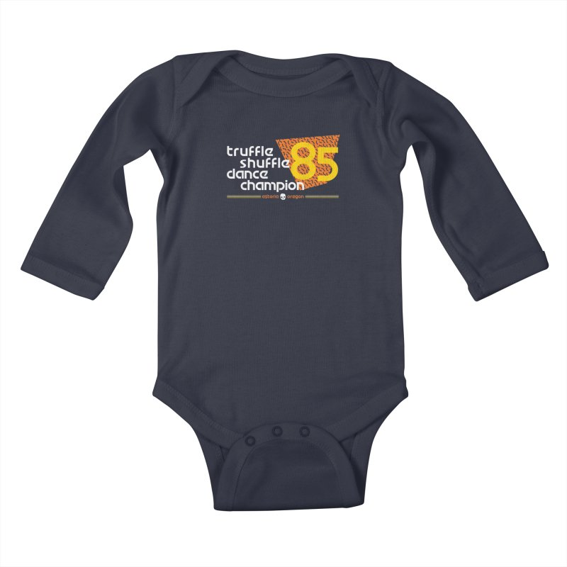 Dance Champ Kids Baby Longsleeve Bodysuit by machmigo1's Artist Shop