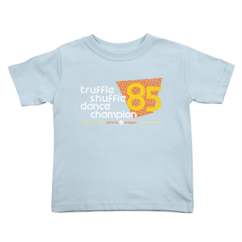 Dance Champ Kids Toddler T-Shirt by machmigo1's Artist Shop