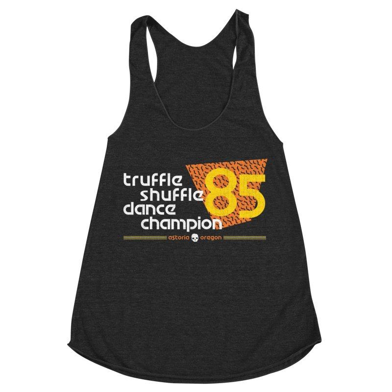 Dance Champ Women's Racerback Triblend Tank by machmigo1's Artist Shop
