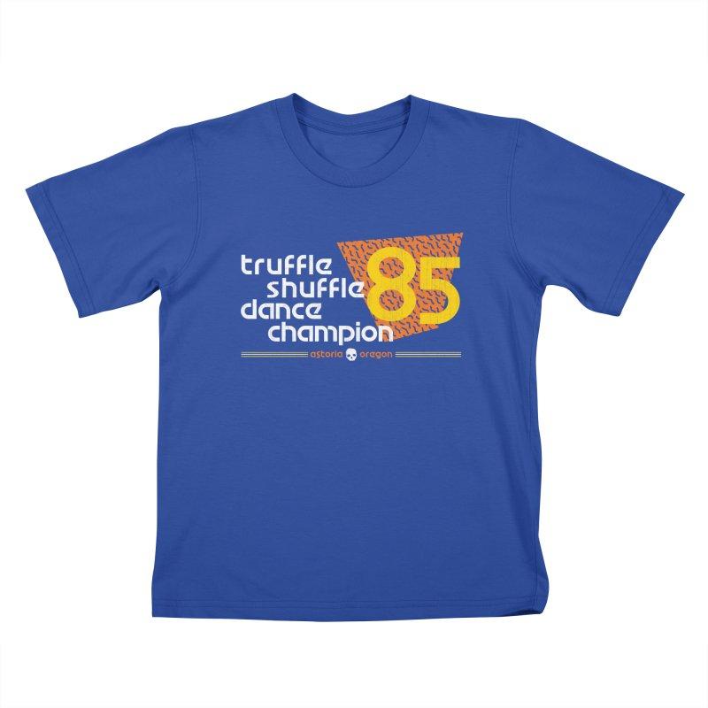 Dance Champ Kids T-Shirt by machmigo1's Artist Shop