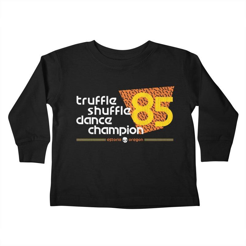 Dance Champ Kids Toddler Longsleeve T-Shirt by machmigo1's Artist Shop