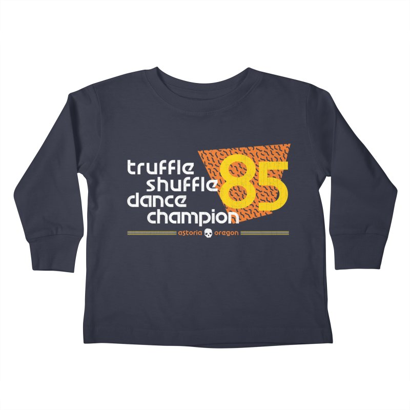 Dance Champ Kids Toddler Longsleeve T-Shirt by machmigo1's Artist Shop