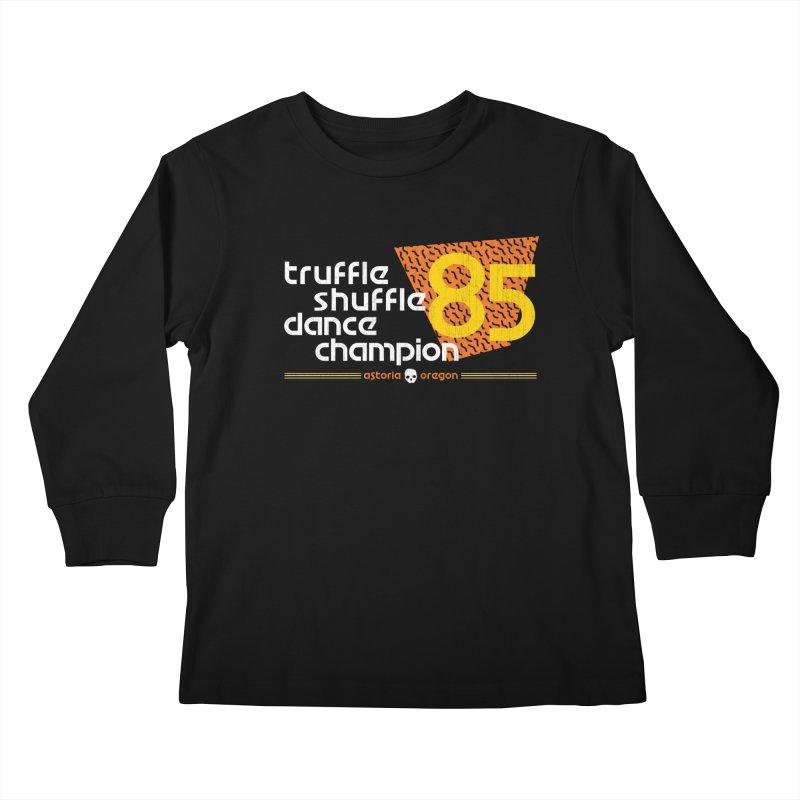 Dance Champ Kids Longsleeve T-Shirt by machmigo1's Artist Shop