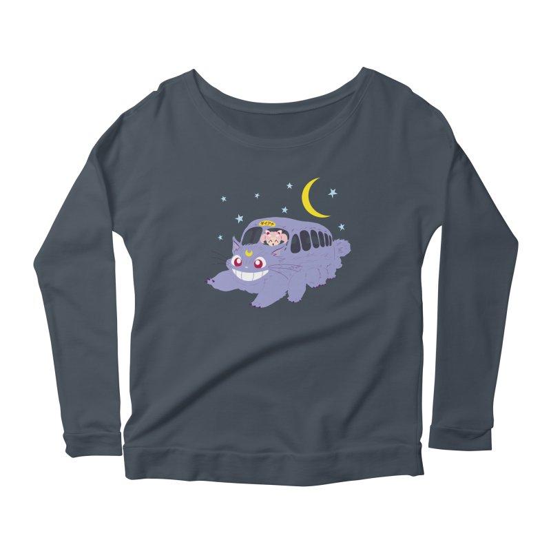 Diana Mobile Women's Scoop Neck Longsleeve T-Shirt by machmigo1's Artist Shop