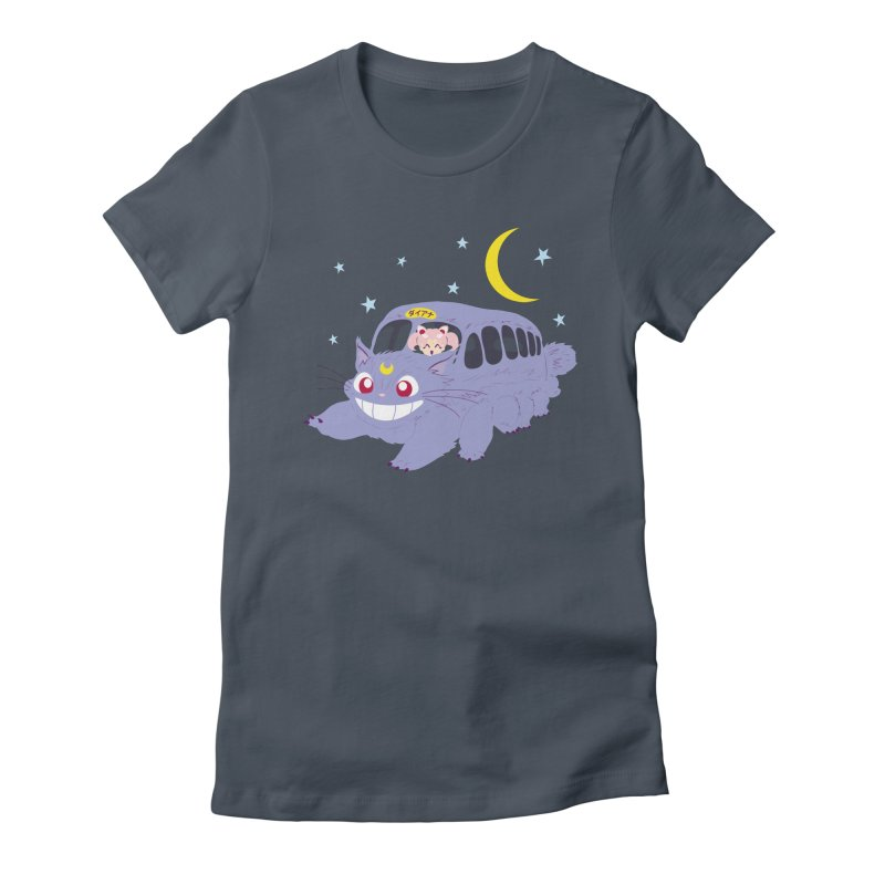 Diana Mobile Women's Fitted T-Shirt by machmigo1's Artist Shop