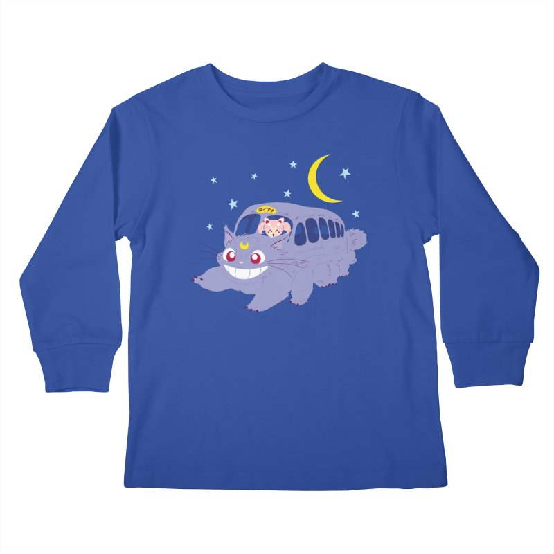 Diana Mobile Kids Longsleeve T-Shirt by machmigo1's Artist Shop