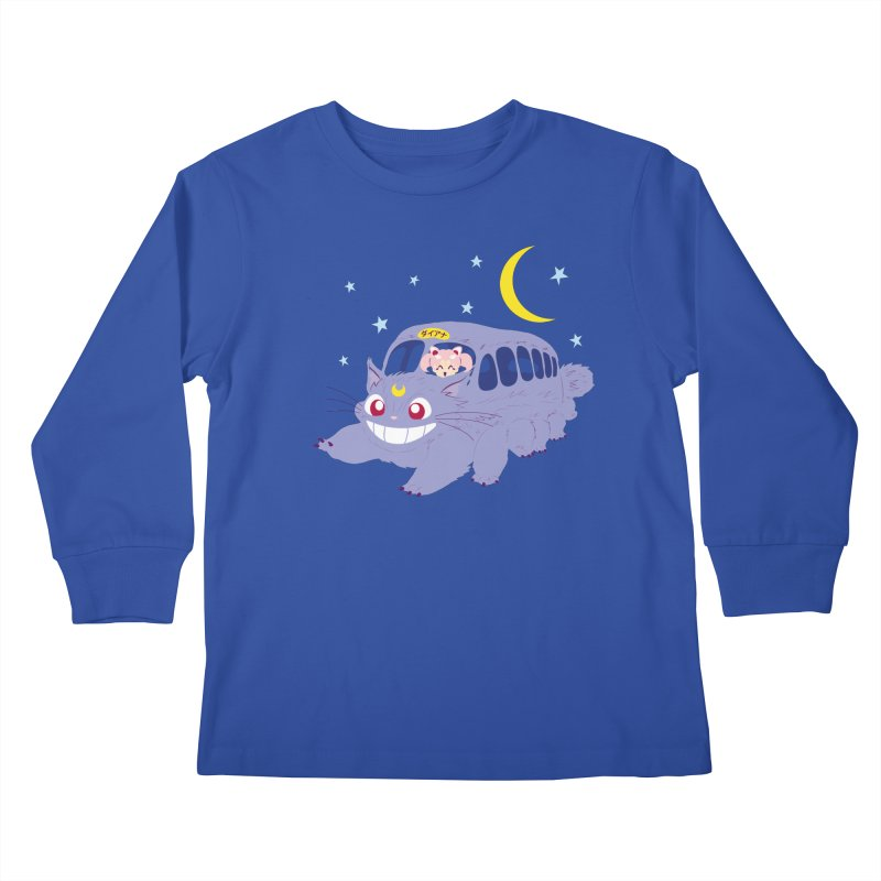 Diana Mobile Kids Longsleeve T-Shirt by machmigo1's Artist Shop