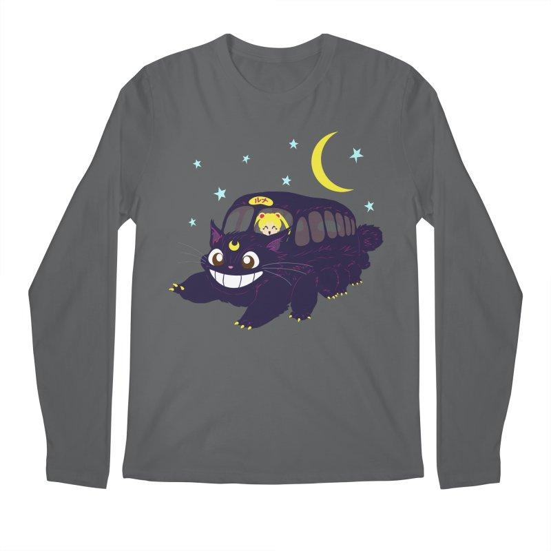 Lunar Express Men's Regular Longsleeve T-Shirt by machmigo1's Artist Shop