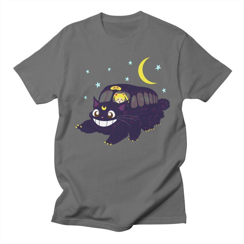 Lunar Express Men's Regular T-Shirt by machmigo1's Artist Shop