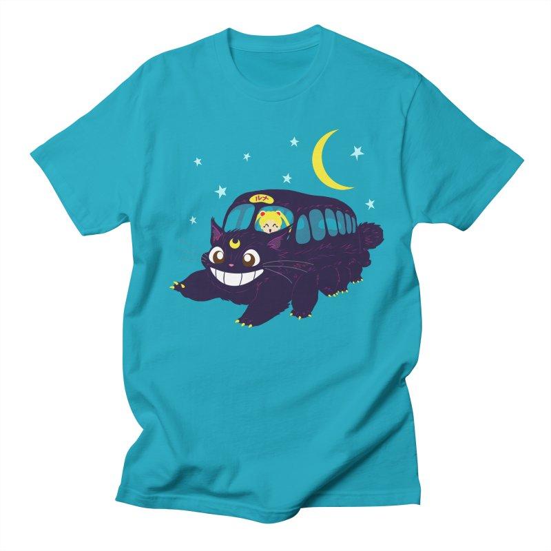 Lunar Express Men's T-shirt by machmigo1's Artist Shop