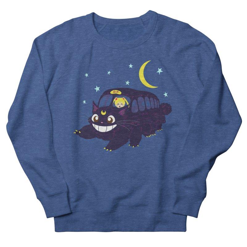 Lunar Express Women's French Terry Sweatshirt by machmigo1's Artist Shop