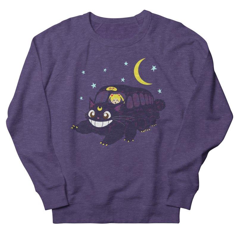 Lunar Express Men's French Terry Sweatshirt by machmigo1's Artist Shop