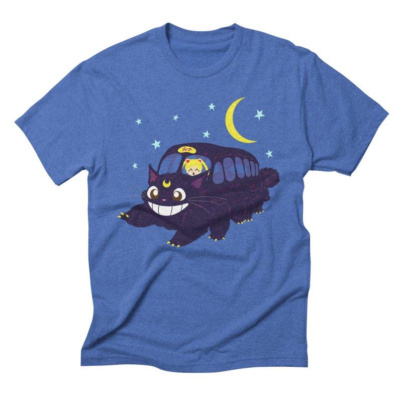 Lunar Express Men's Triblend T-Shirt by machmigo1's Artist Shop