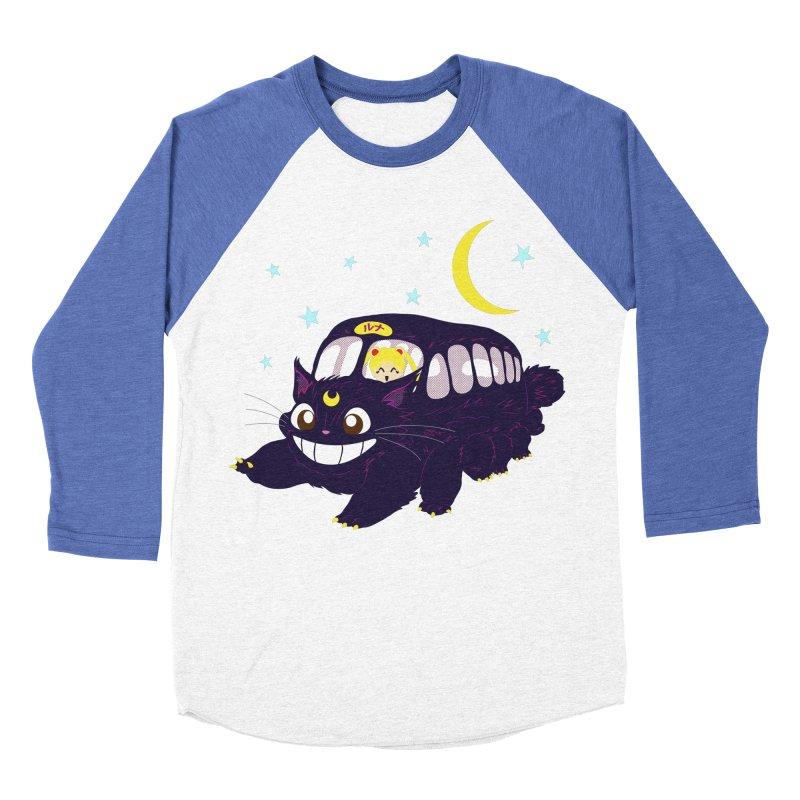 Lunar Express Women's Baseball Triblend Longsleeve T-Shirt by machmigo1's Artist Shop