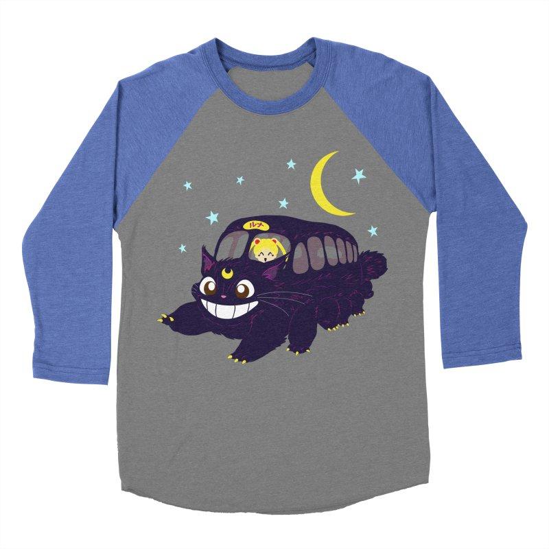 Lunar Express Men's Baseball Triblend T-Shirt by machmigo1's Artist Shop