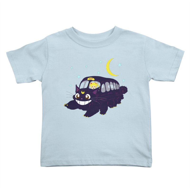 Lunar Express Kids Toddler T-Shirt by machmigo1's Artist Shop