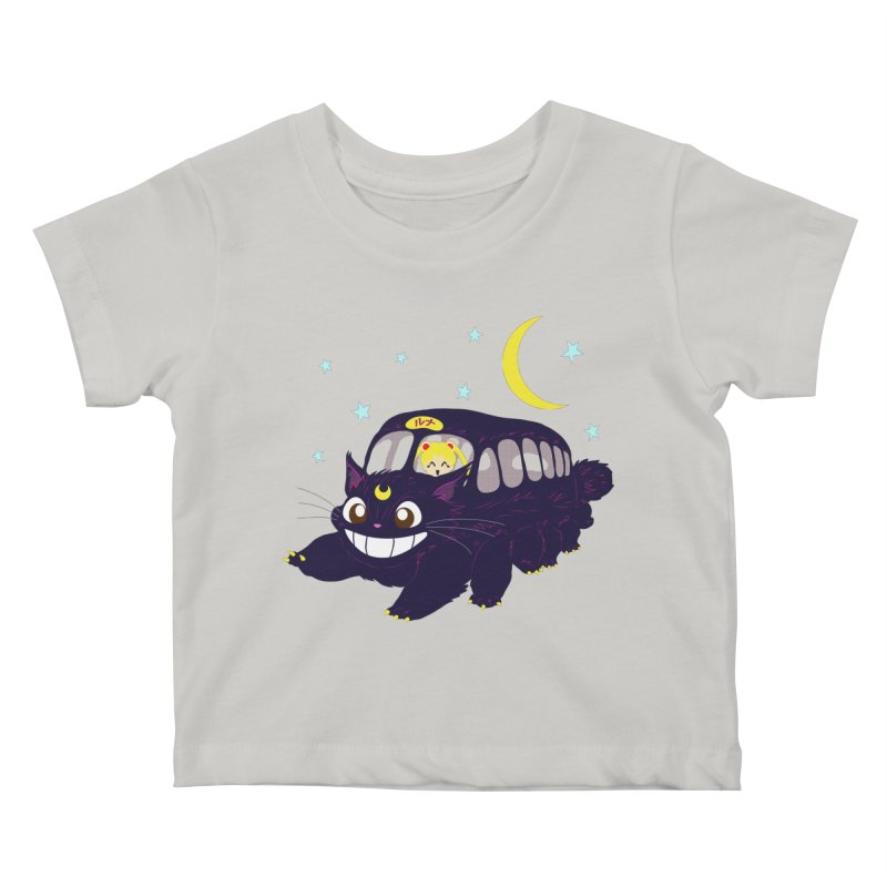 Lunar Express Kids Baby T-Shirt by machmigo1's Artist Shop