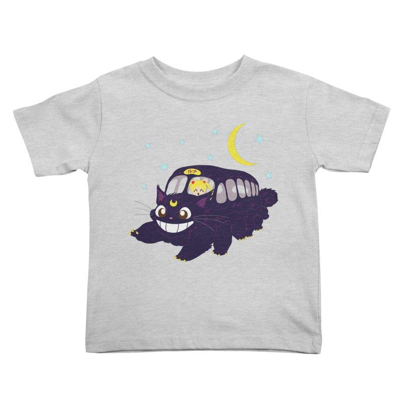 Lunar Express Kids Toddler T-Shirt by machmigo1's Artist Shop
