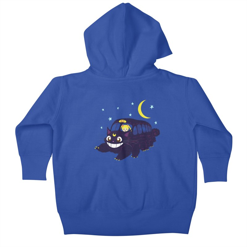 Lunar Express Kids Baby Zip-Up Hoody by machmigo1's Artist Shop