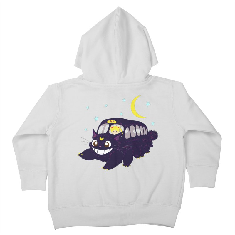 Lunar Express Kids Toddler Zip-Up Hoody by machmigo1's Artist Shop
