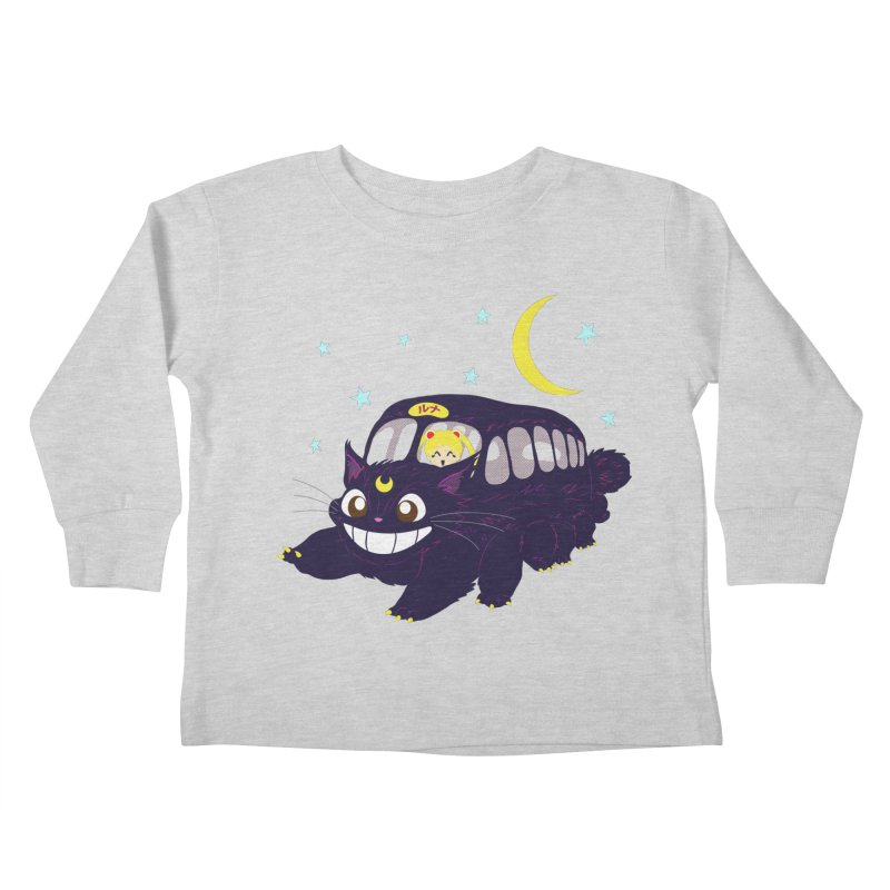 Lunar Express Kids Toddler Longsleeve T-Shirt by machmigo1's Artist Shop