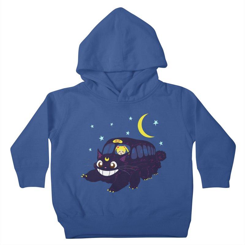 Lunar Express Kids Toddler Pullover Hoody by machmigo1's Artist Shop