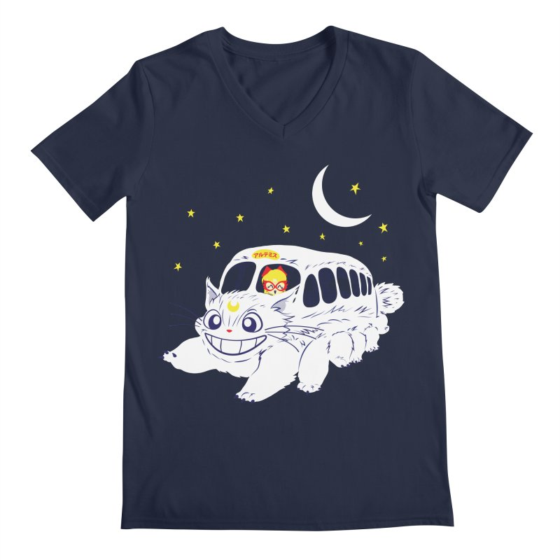 Sailor Vehicle Men's Regular V-Neck by machmigo1's Artist Shop