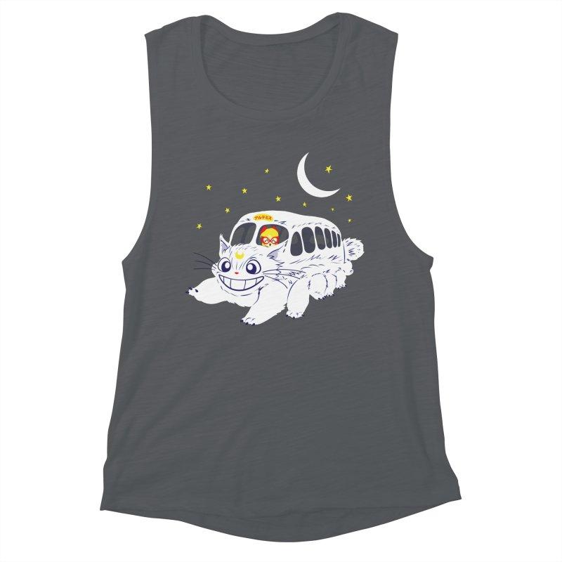 Sailor Vehicle Women's Muscle Tank by machmigo1's Artist Shop