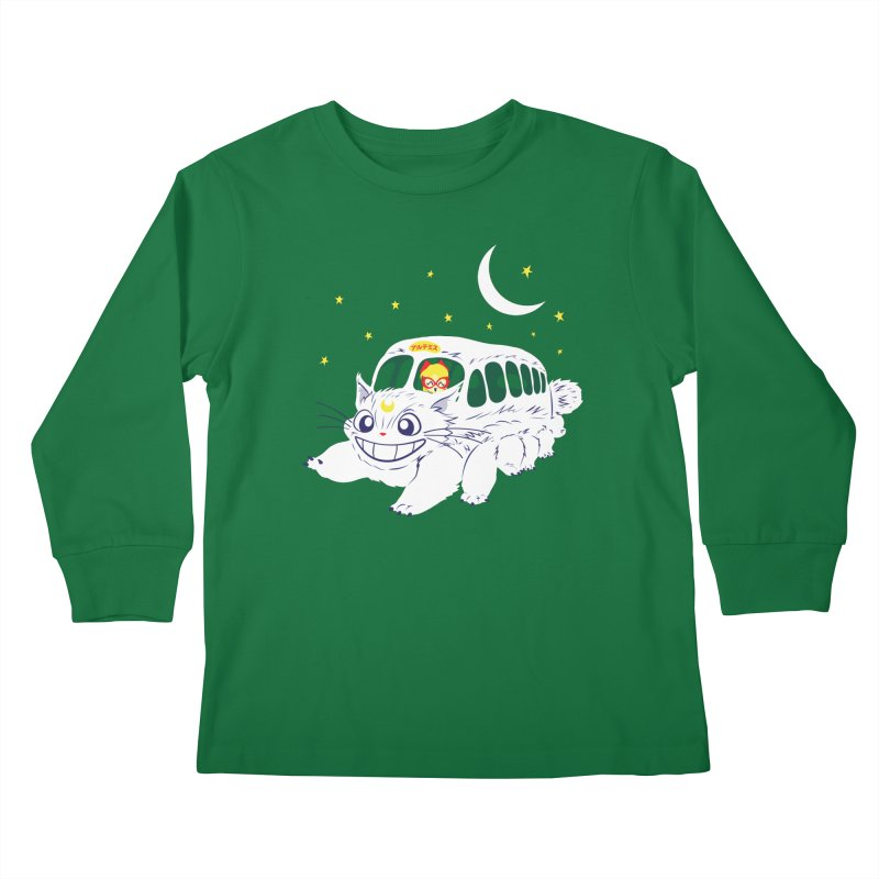 Sailor Vehicle Kids Longsleeve T-Shirt by machmigo1's Artist Shop