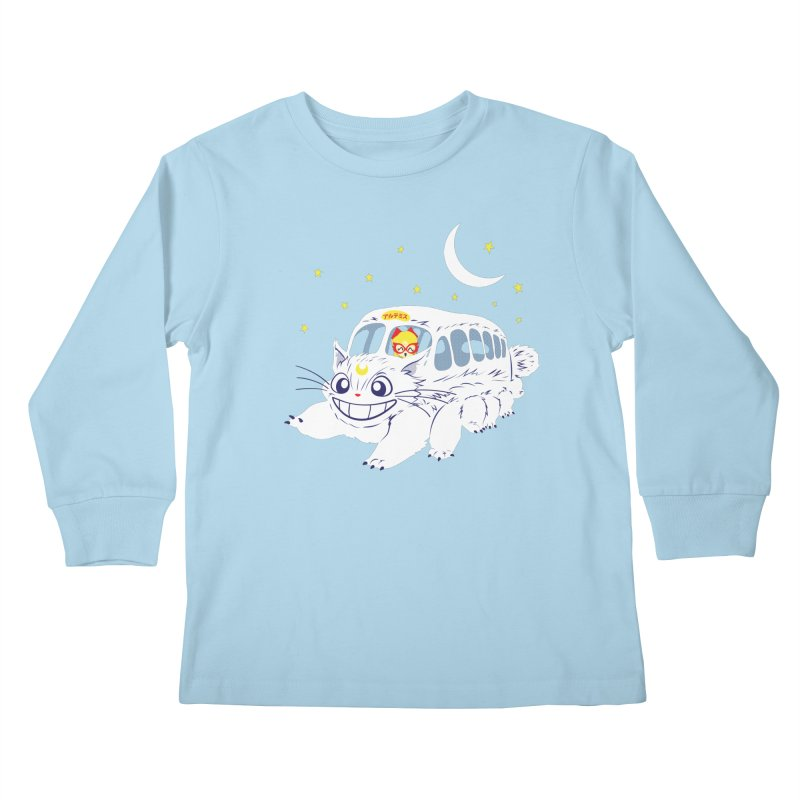 Sailor Vehicle Kids Longsleeve T-Shirt by machmigo1's Artist Shop
