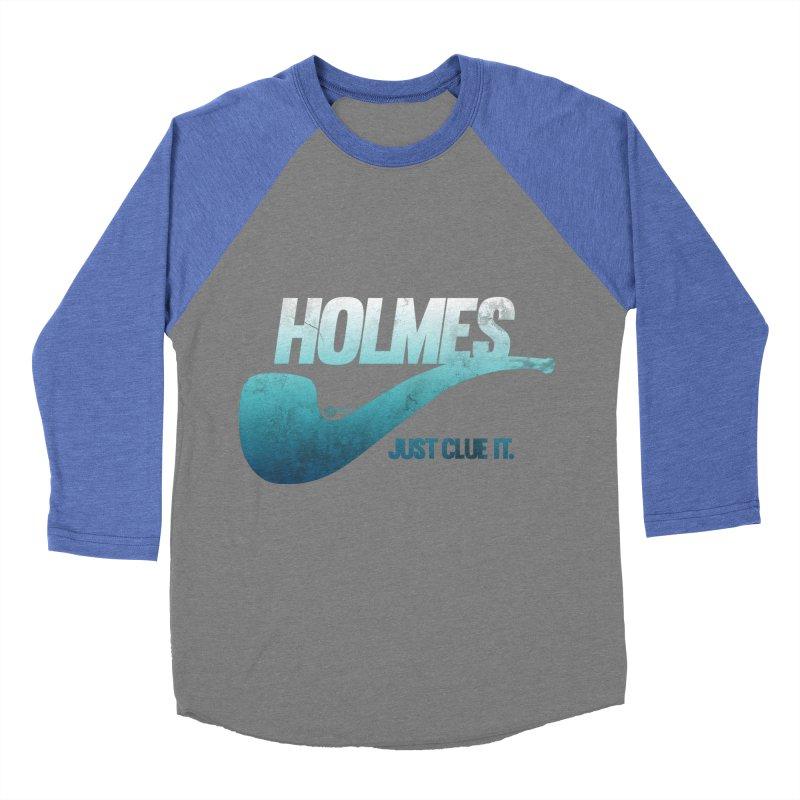 Just Clue It Men's Baseball Triblend T-Shirt by Mack Wimbush's Artist Shop