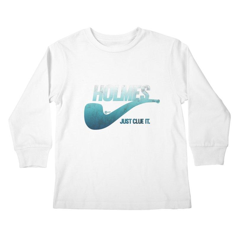 Just Clue It Kids Longsleeve T-Shirt by Mack Wimbush's Artist Shop