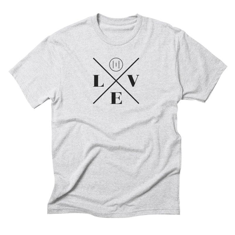 The Onset | Love Men's Triblend T-Shirt by Macy McKinzie