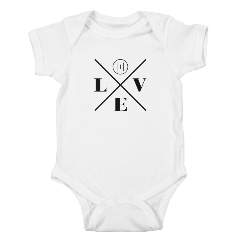 The Onset | Love Kids Baby Bodysuit by Macy McKinzie