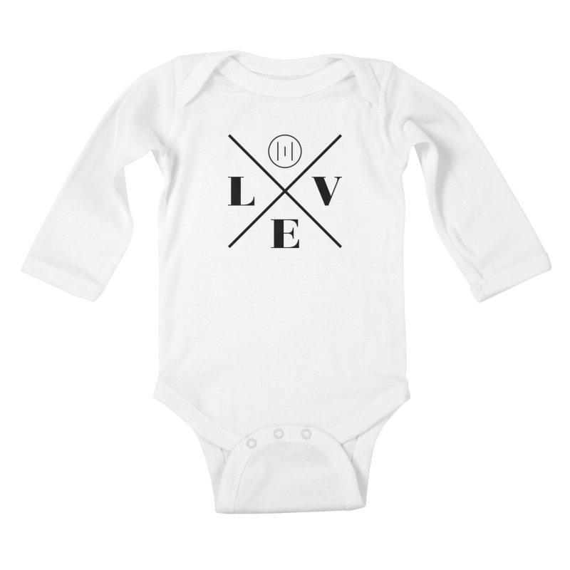 The Onset | Love Kids Baby Longsleeve Bodysuit by Macy McKinzie