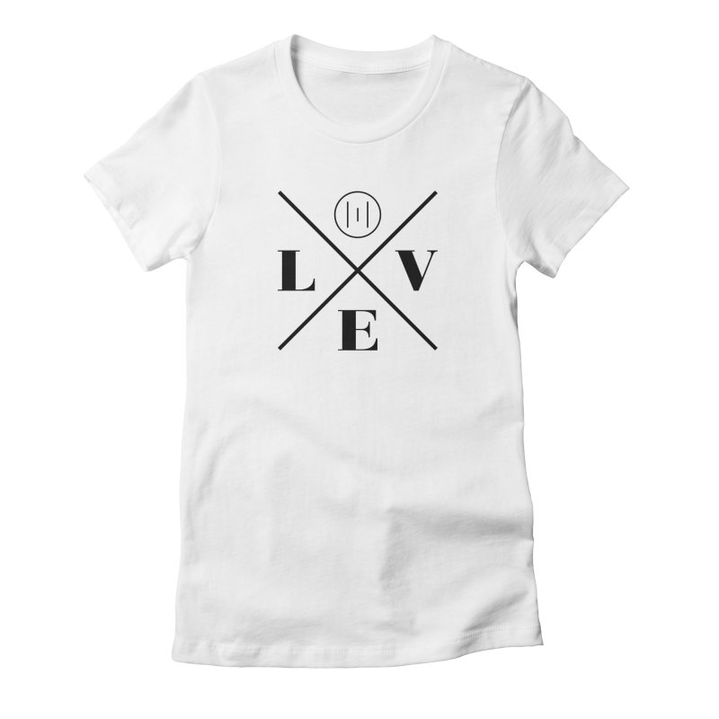 The Onset | Love Women's Fitted T-Shirt by Macy McKinzie