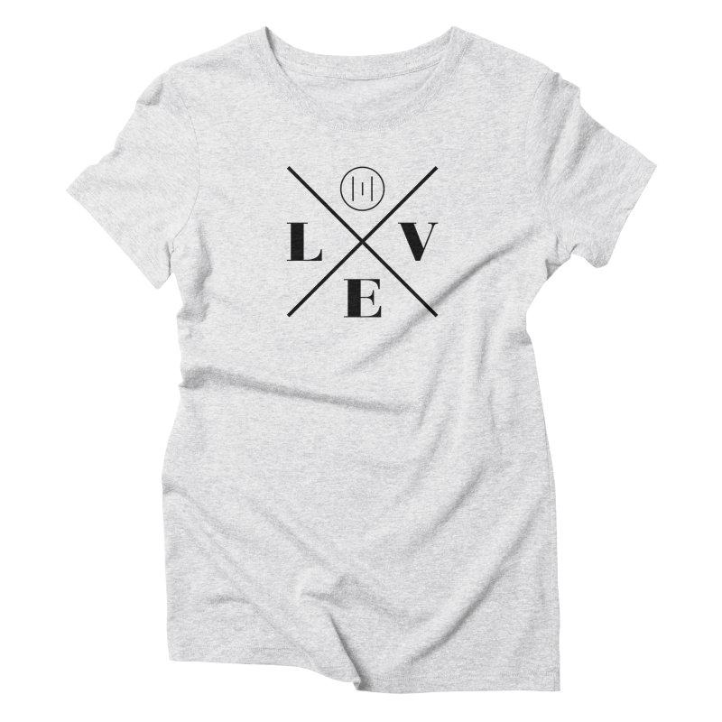 The Onset | Love Women's Triblend T-Shirt by Macy McKinzie