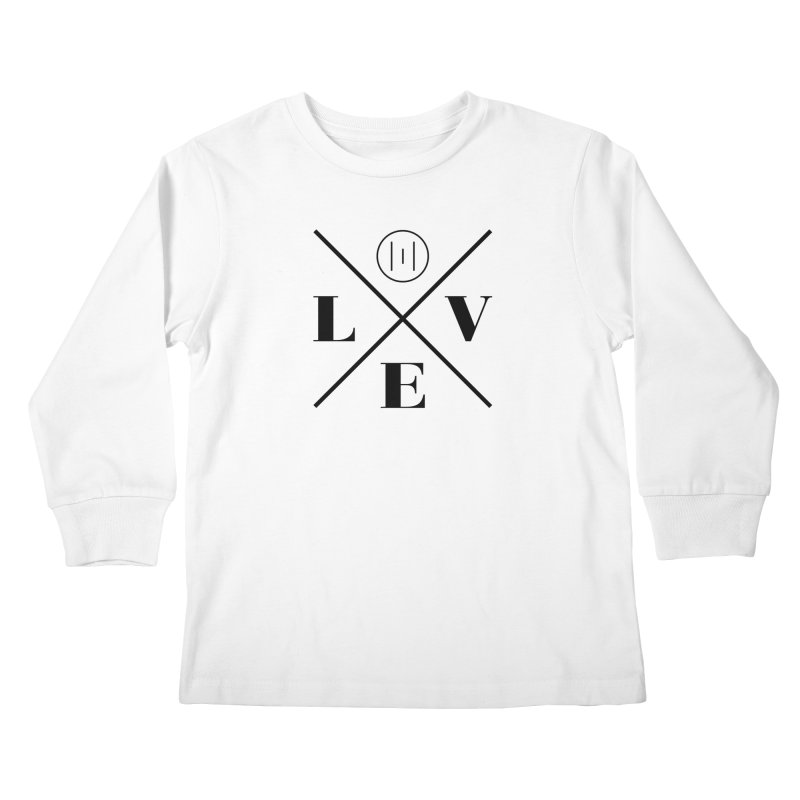 The Onset | Love Kids Longsleeve T-Shirt by Macy McKinzie