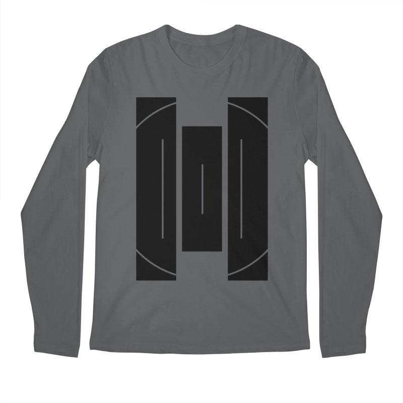 Macy McKinzie   BlackBar Men's Regular Longsleeve T-Shirt by Macy McKinzie
