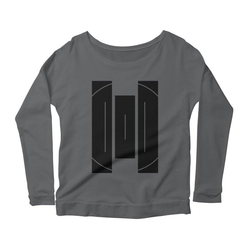 Macy McKinzie   BlackBar Women's Scoop Neck Longsleeve T-Shirt by Macy McKinzie