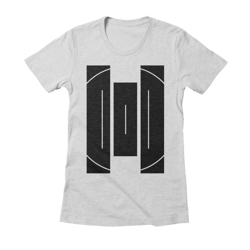 Macy McKinzie | BlackBar Women's Fitted T-Shirt by Macy McKinzie