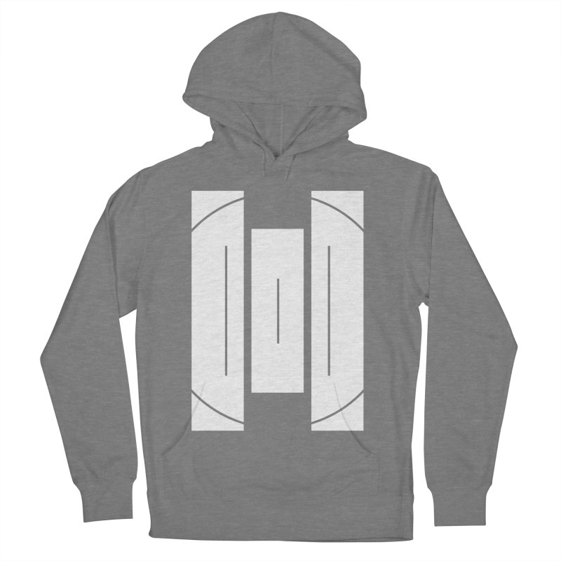 The Onset   BlackBar White Women's French Terry Pullover Hoody by Macy McKinzie