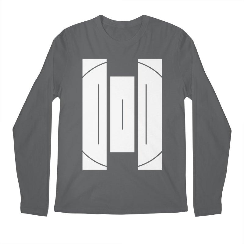 The Onset | BlackBar White Men's Regular Longsleeve T-Shirt by Macy McKinzie