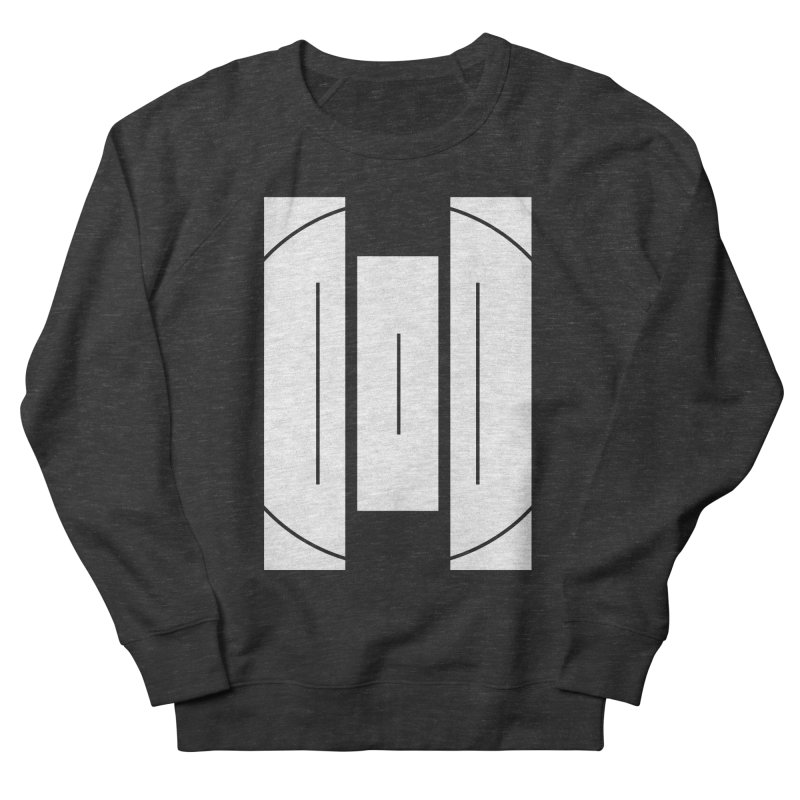 The Onset | BlackBar White Men's French Terry Sweatshirt by Macy McKinzie