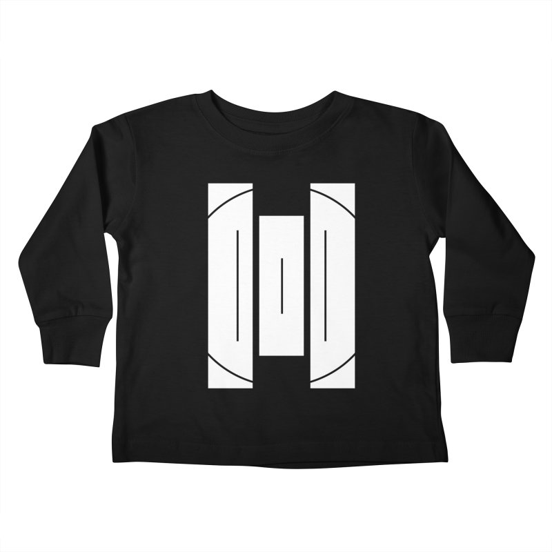 The Onset | BlackBar White Kids Toddler Longsleeve T-Shirt by Macy McKinzie